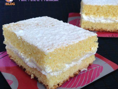 Torta Paradiso – ricetta simil Kinder