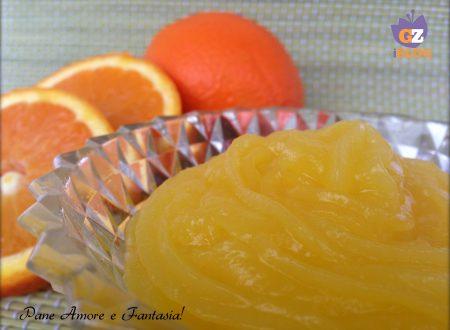 Crema all'arancia senza uova – ricetta base
