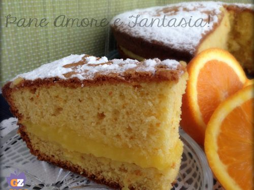 Torta all'arancia – ricetta semplice