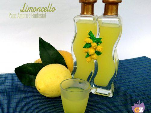 Il limoncello fatto in casa – la ricetta