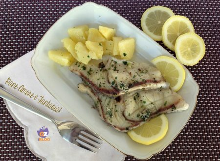 Pesce spada alla griglia – piatto semplice