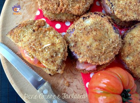 Hamburger di melanzane farciti – ricetta