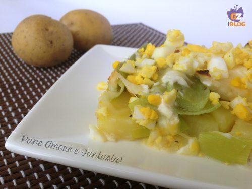 Porri con uova – ricetta contorno