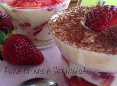 Tiramisù fragole e ricotta – ricetta light