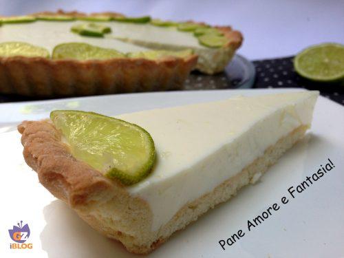 Crostata fredda al lime – ricetta golosa