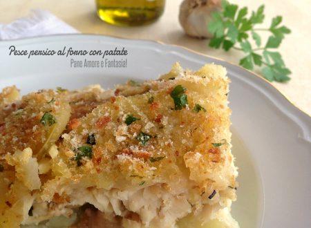 Filetto di pesce persico al forno con patate – ricetta