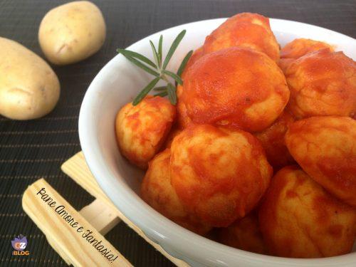 Polpette di patate al pomodoro – ricetta facile