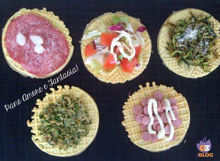 Cialde salate mille gusti – ricetta facile