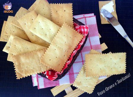 Crackers – la ricetta di Sonia