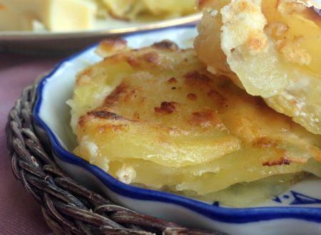 Pasticcio di patate in bianco – ricetta veloce