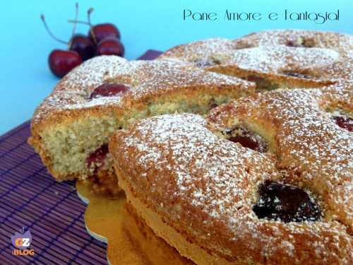 Torta alle ciliegie soffice- ricetta semplice
