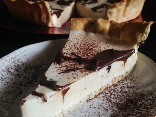Crostata cheesecake con yogurt e mascarpone