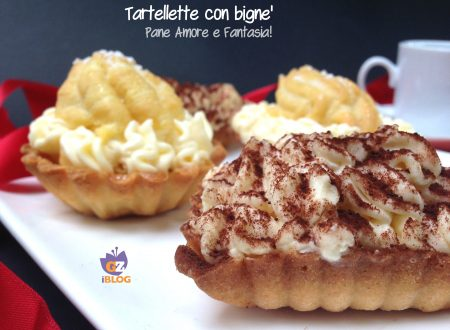 Tartellette con bignè  – tortine golose