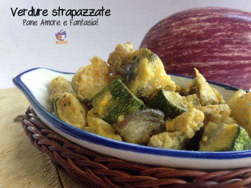 Verdure strapazzate: zucchine e melanzane alle uova