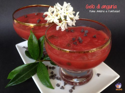 Gelo di anguria – ricetta tipica