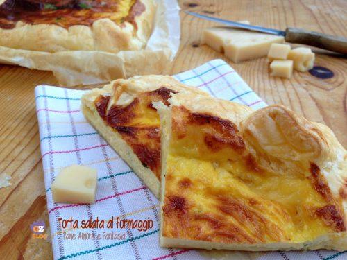 Torta salata al formaggio – ricetta rustica
