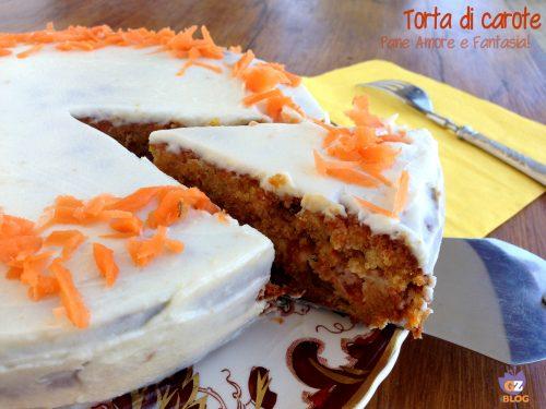 Torta di carote americana – Carrot Cake