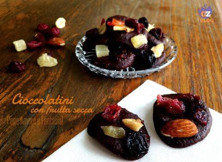 Cioccolatini veloci con frutta secca