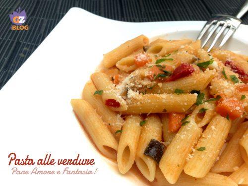 Pasta alle verdure, ricetta veloce