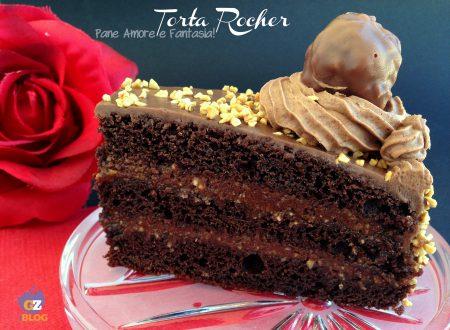 Torta Rocher – ricetta golosa