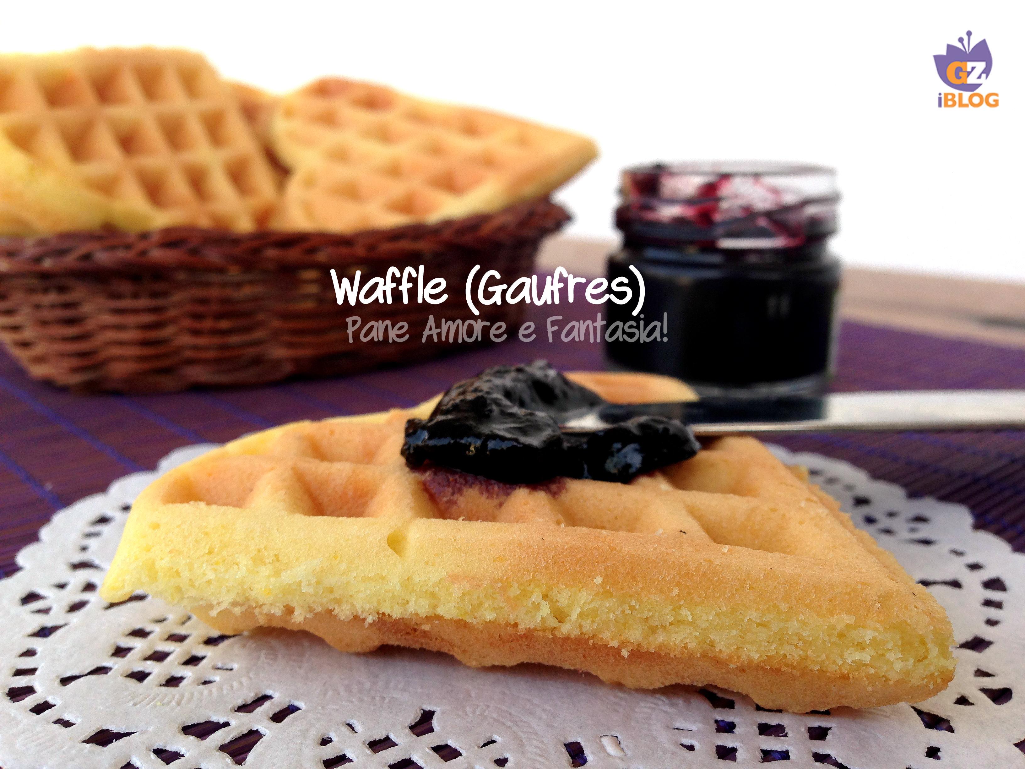 Waffle o Gaufres – la ricetta perfetta