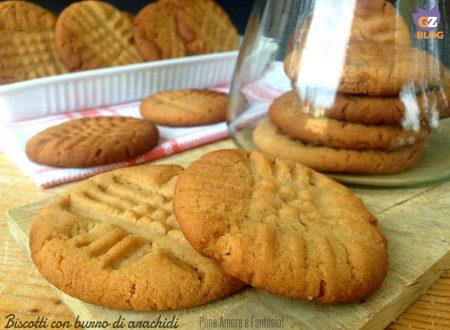 Biscotti al burro di arachidi – Peanut Butter Cookies