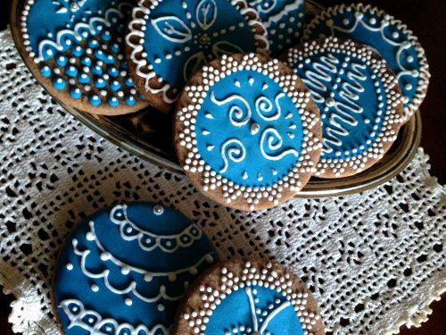 Biscotti decorati di Natale – ricetta semplice