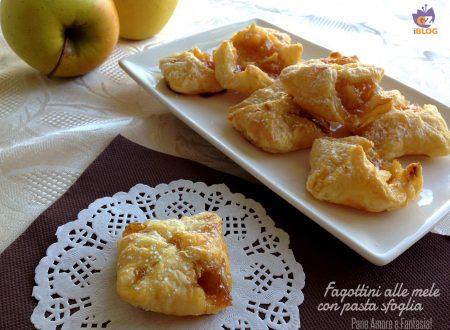Fagottini alle mele con pasta sfoglia