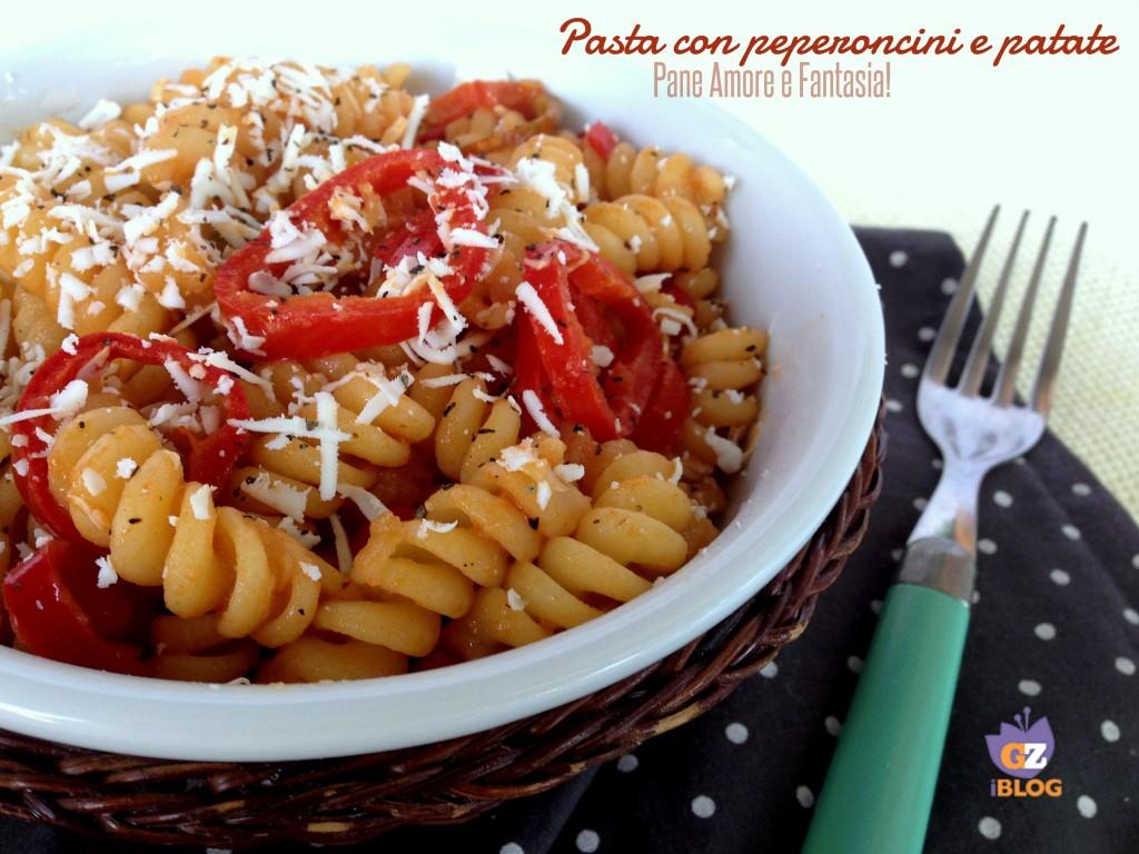 pasta con peperoncini e patate