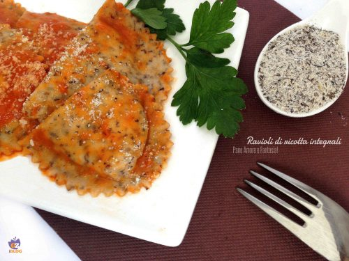 Ravioli di ricotta integrali – ricetta abruzzese