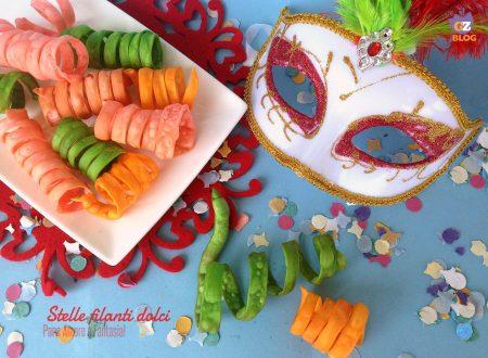 Stelle filanti di Carnevale – ricetta dolce