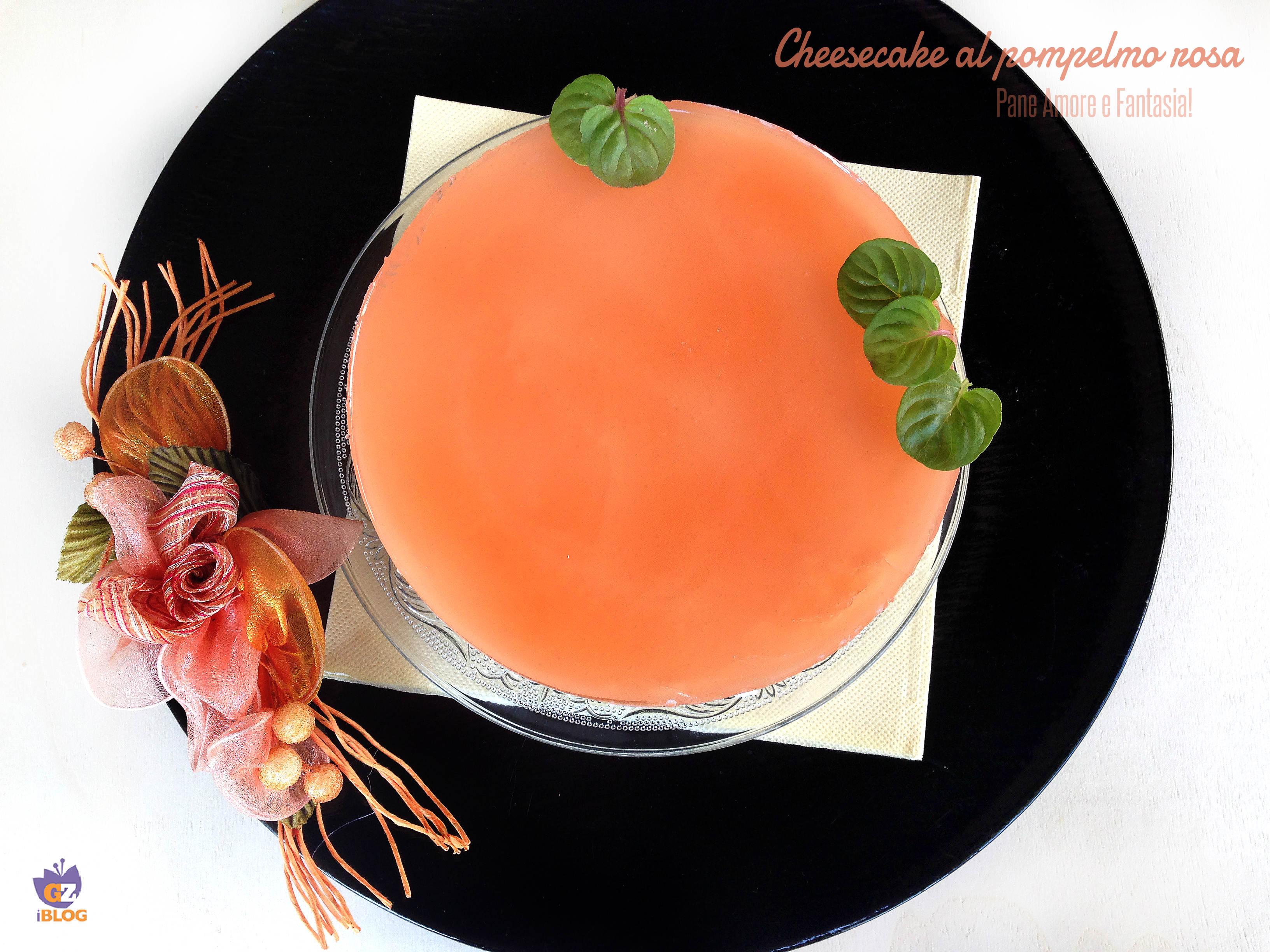 cheesecake al pompelmo