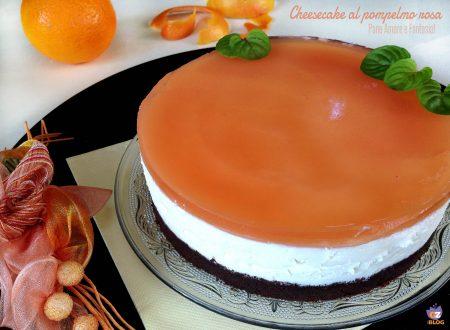 Cheesecake al pompelmo rosa – senza cottura
