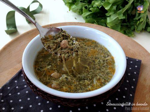 Stracciatella in brodo – ricetta abruzzese