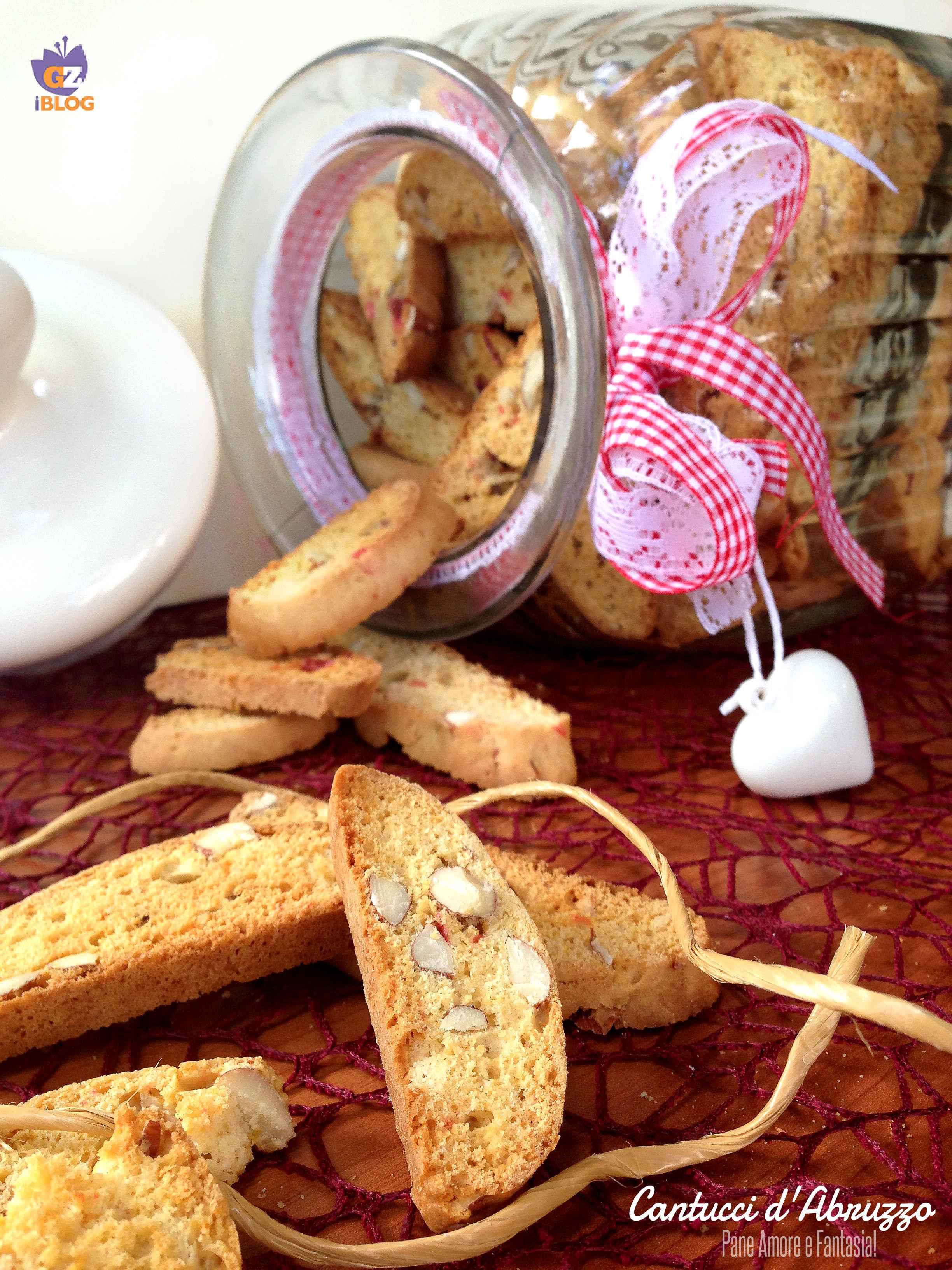 biscotti alle mandorle - cantucci d'abruzzo