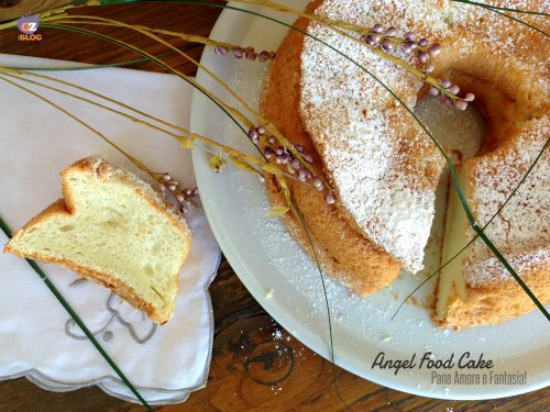 Angel Food Cake – la ricetta di Laurel Evans