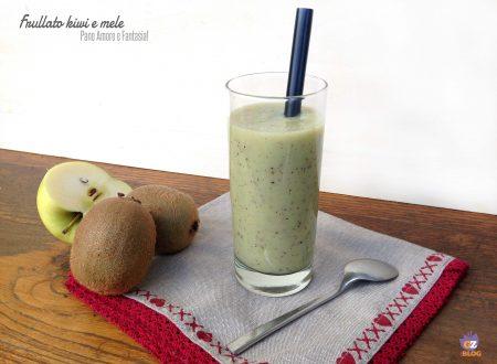 Frullato kiwi e mele – ricetta nutriente