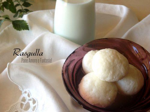 Rasgulla – specialità dolce indiana