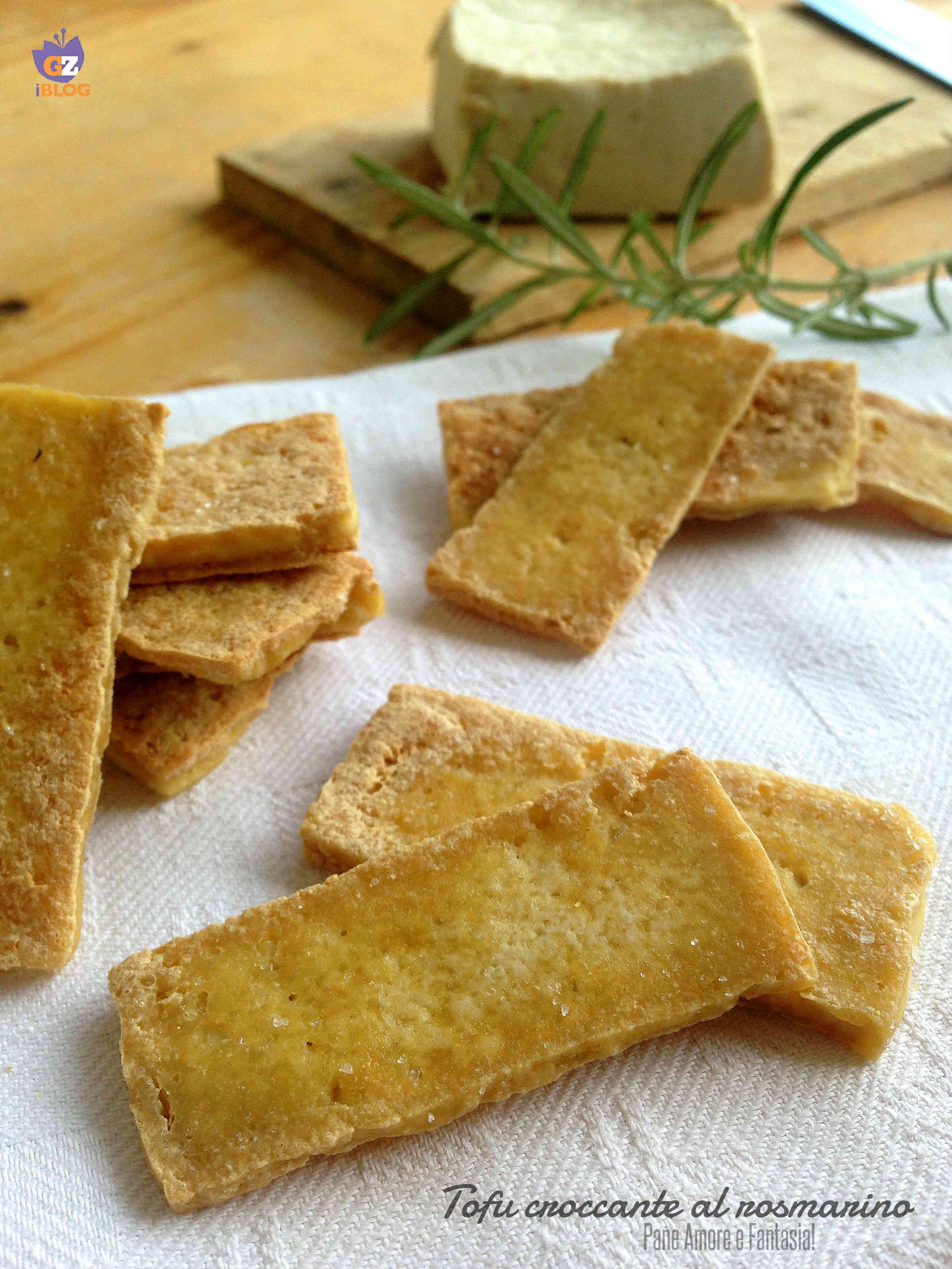 tofu croccante al rosmarino