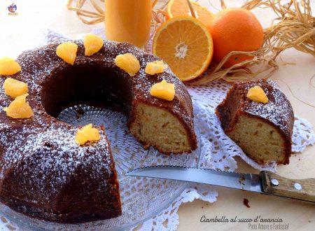 Ciambella al succo d'arancia