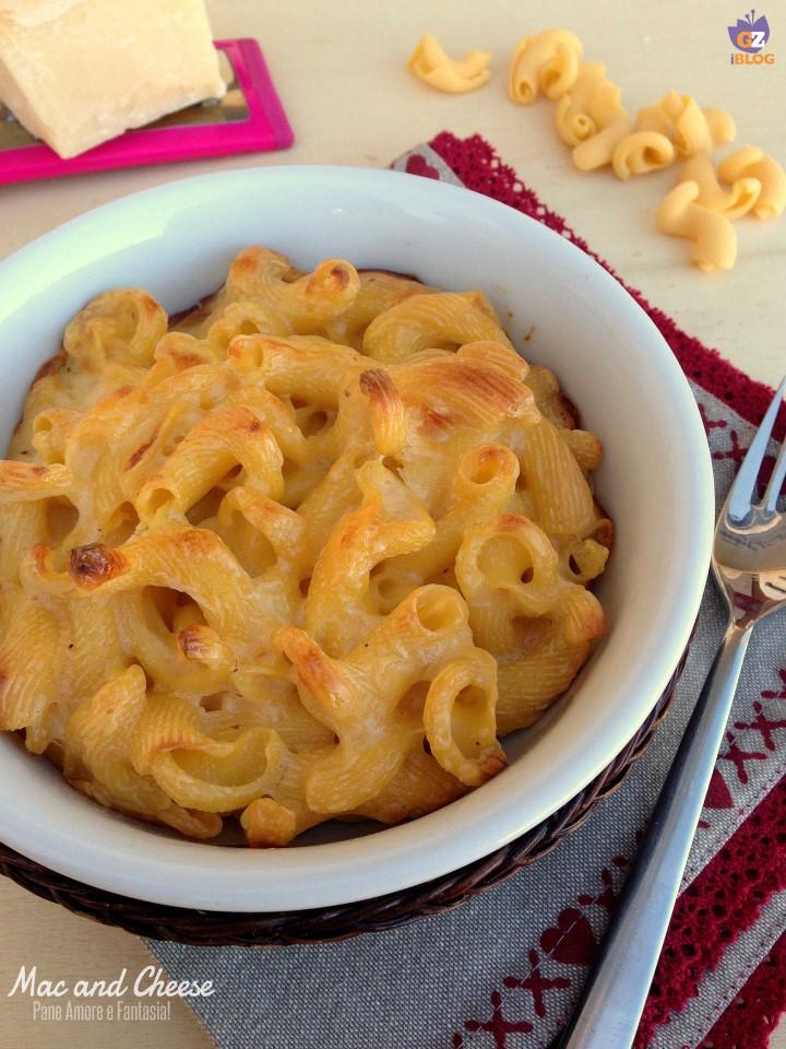 Mac and Cheese - maccheroni al formaggio