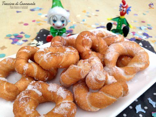 Treccine di Carnevale, ricetta friulana facilissima