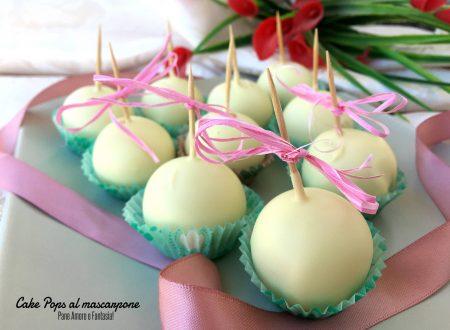 Cake Pops al mascarpone (anche Bimby)
