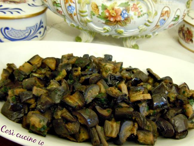 Melanzane funghetto - Così cucino io