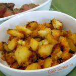 Padellata di patate e zucca al profumo di rosmarino