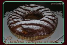 Ciambella variegata al cacao