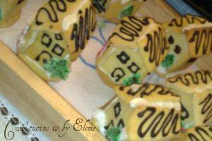 Casette segnaposto per la tavola di natale