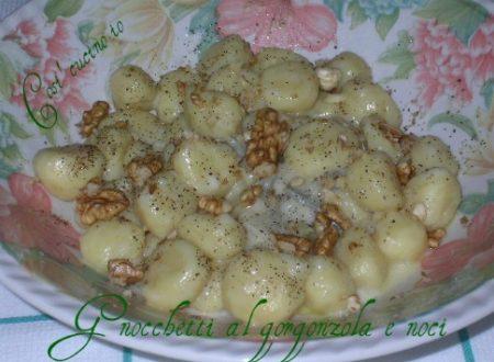 Gnocchetti al gorgonzola e noci