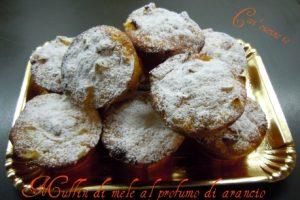 Muffin di mele al profumo di arancio