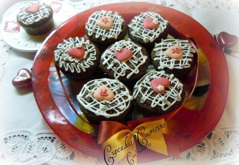 "Cupcakes ""cuoricino"""